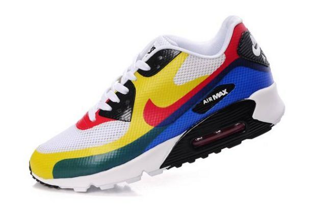 """Nike Air Max 90 Hyperfuse Womens """"Olympic"""""""