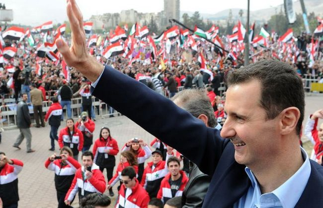 Bashar Al-Assad Says America Will Soon Join His Side, And Will Work With Him In Fighting ISIS - http://banoosh.com/blog/2014/08/24/bashar-al-assad-says-america-will-soon-join-his-side-and-will-work-with-him-in-fighting-isis/: