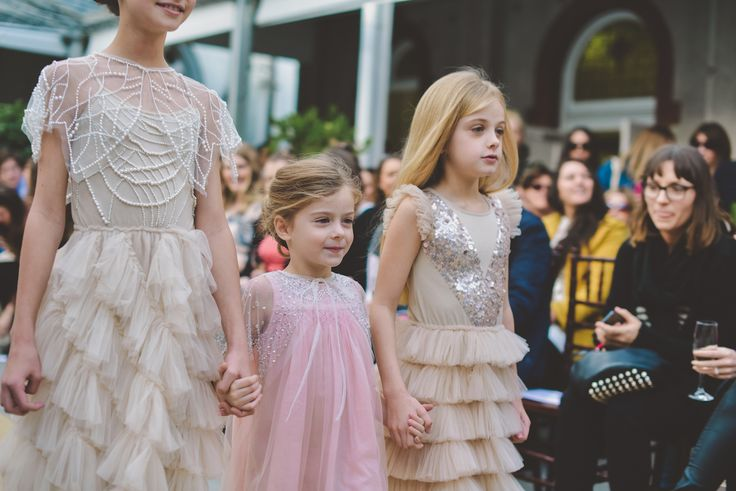 Like it or not, the flower girls always steal the show. Don't forget to make sure their hair is just right.  Blow Dry Bar the Official Hair Partner of One Fine Day, Melbourne.