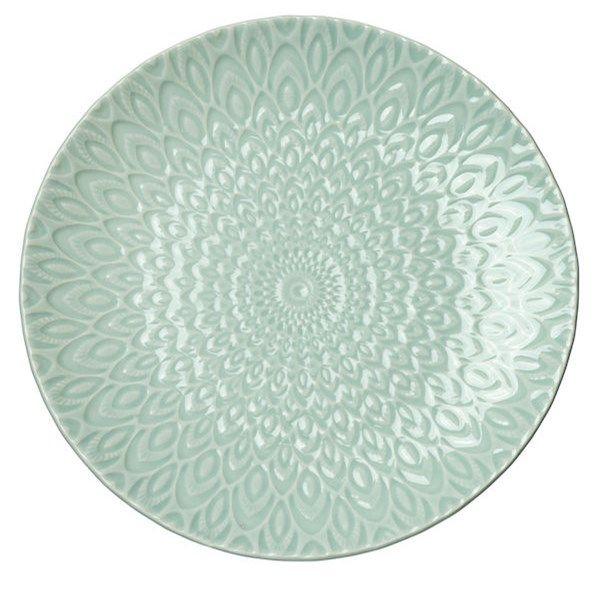 Asjett i steintøy. Mål: Ø 27 cm. Finnes i flere farger. Det finnes også tallerken, skål og kopp i samme farger. Tåler mi...
