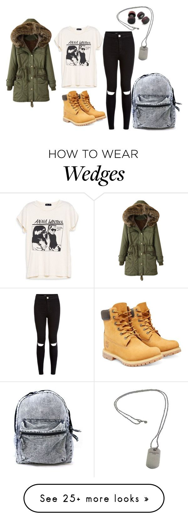 """""""Casual Winter Outfit"""" by kita-16 on Polyvore featuring Timberland and Tiffany & Co."""
