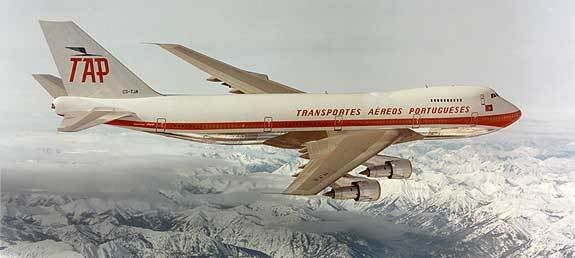 TAP Boeing 747 (early '70's)