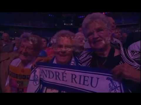 AMAZING GRACE ( ANDRE RIEU AND BAGPIPES ).  Very inspiring - many audience members moved to tears (could be cheesy, but it's not)