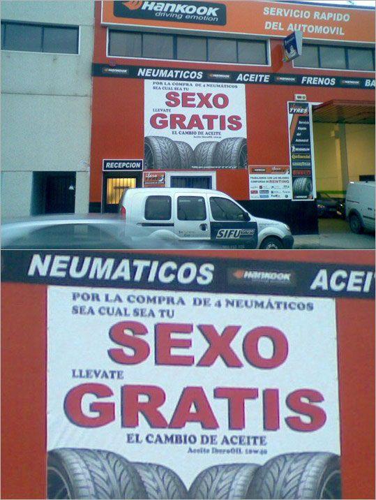 Gran ejemplo de publicidad creativa y de muy bajo costo. imprime con Gerprint ecosolventes www.grupoeshop.com