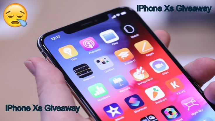 Get The New Iphone Xs Giveaway Universal Service Ios Update Group Facetime Facetime