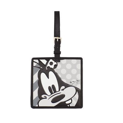 LUGGAGE TAG - GOOFY (BLACK AND WHITE)