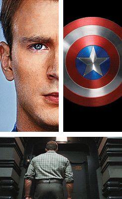 Captain America. (also... i'm liking that last frame... )