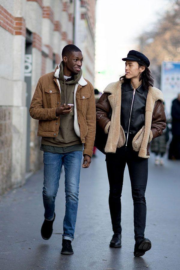 2017-03-30のファッションスナップ。着用アイテム・キーワードはスニーカー, デニム, パーカー, ブルゾン, レザージャケット, Gジャン・デニムジャケット,etc. 理想の着こなし・コーディネートがきっとここに。| No:204398