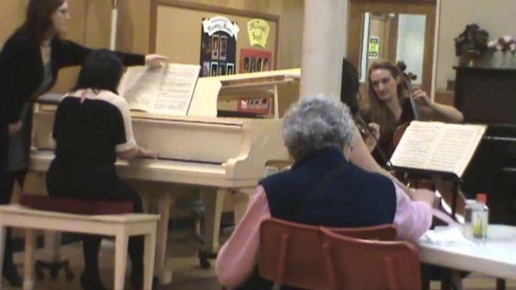 "Haydn Trio in E Major The McDougall Concert Association presented on 2017-02-08.... Alison Stewart violin, Kathleen de Caen cello, Julia Davis piano Trio in E major, Hob.XV:28 I. Allegro moderato Joseph Haydn (1732-1809) Performed February 8, 2017 A tremendously unique ""performance chemistry"" is radiated by this trio!"