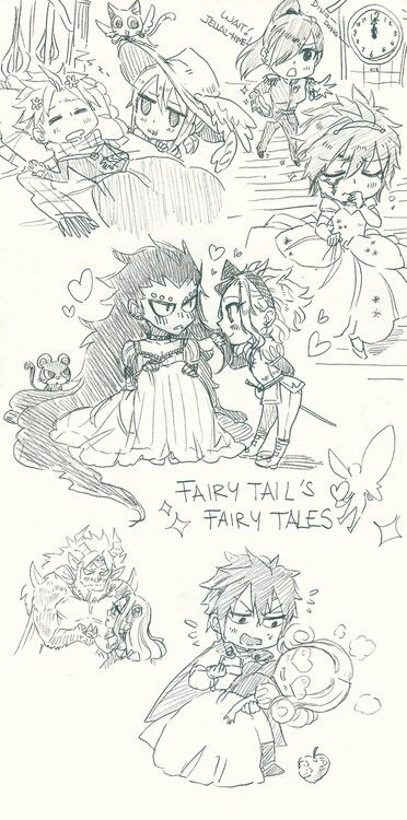 So cute ~ Natsu x Lucy and Jellal x Erza and Gajeel x Levy and Gray x Juvia