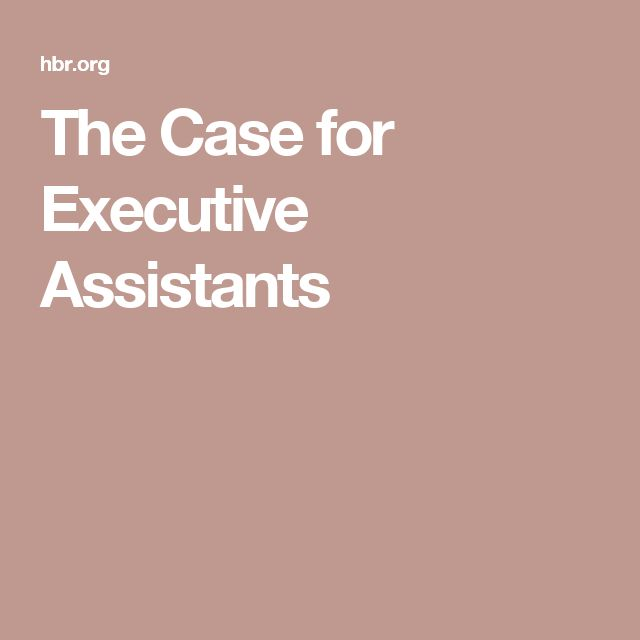 24 best championing the assistant and administrative profession the case for executive assistants fandeluxe Images