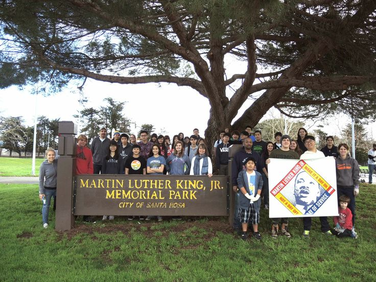 Pin by City of Santa Rosa Volunteer P on MLK Day of