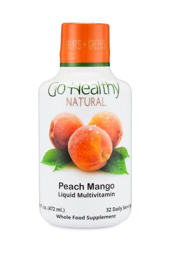 Liquid Multivitamin - Peach Mango 'Fruits