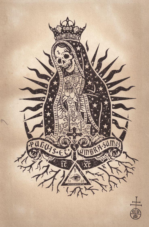 santa muerte virgain mary   imagenes de la santa muerte15