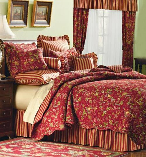 Caspienne French Country Quilt Bella Home Fashions
