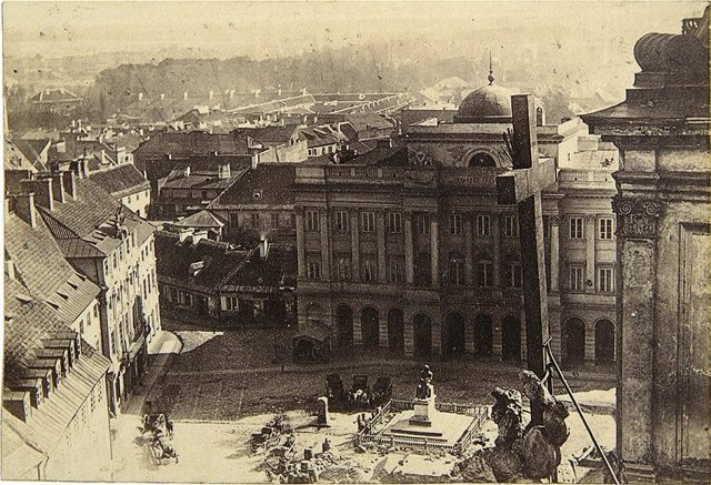 Warsaw, Poland, 19 c. by Karol Beyer