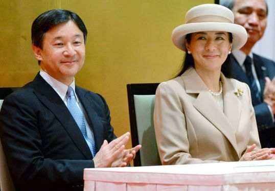 royalhats:  Crown Prince Naruhito and Crown Princess Masako attended the Global Environmental Action Internation Conference opening ceremony, October 15, 2015
