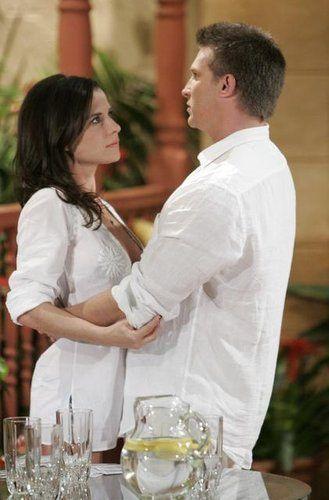 Kelly Monaco and steve burton | Sam and Jason (Kelly Monaco and Steve Burton) are on Sonny's private ...