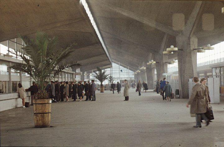 Railway Station '70 / Katowice, Poland