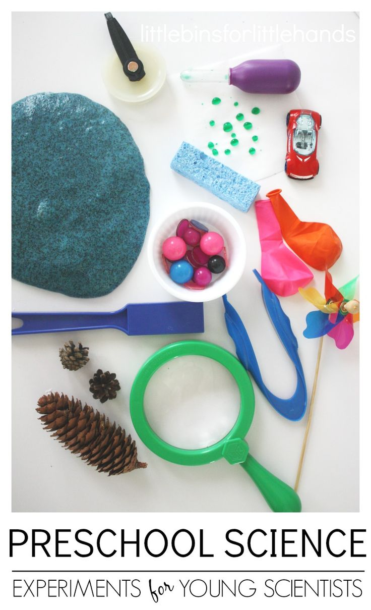 30 Preschool Science Experiments For The Young Scientist