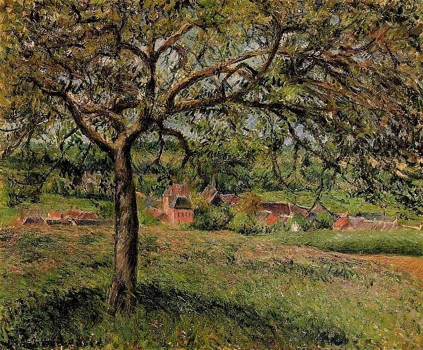 Pommier à Éragny Camille Pissarro
