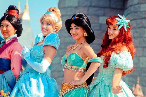 A few princesses