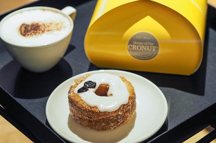 Cronuts from Dominique Ansel bakery, London