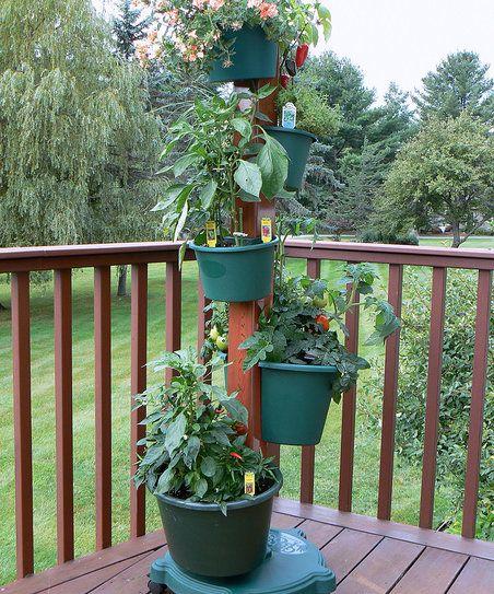 My Garden Post Green Drip Irrigation Vertical Garden System   zulily