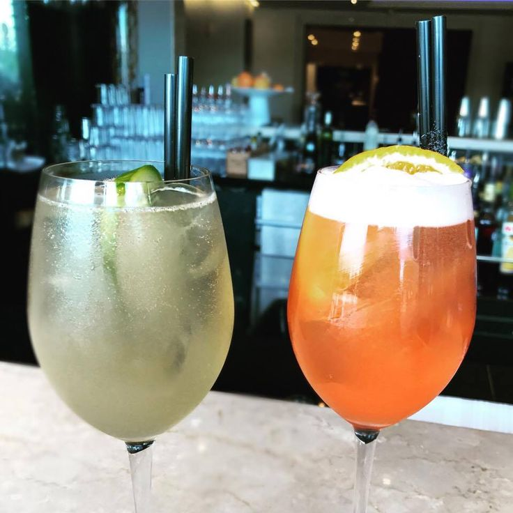 💏 Mr. Tonic Me & Ms. Aperol Flip. 🥂🍹🍸The most refreshing couple of the weekend! #TGIF