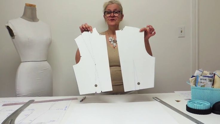 How to make a Bodice block.