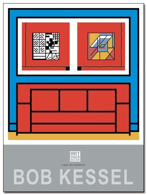 ART OVER DECOR POSTER (Sofa) by bobkessel