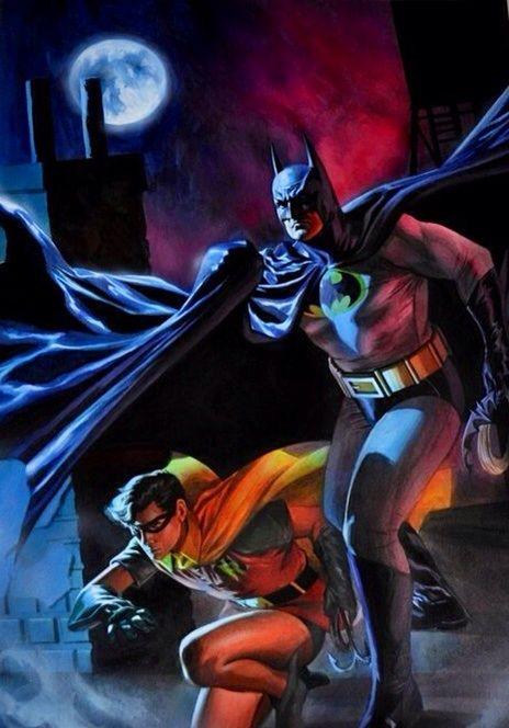 Batman and Robin by Felipe Massafera #ComicArt