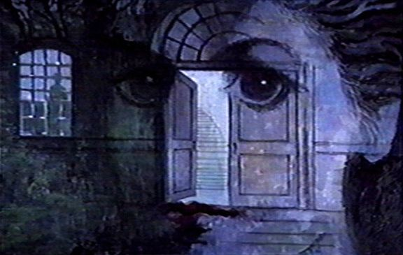 """Painting for the Night Gallery episode """"The House"""". By Tom Wright"""