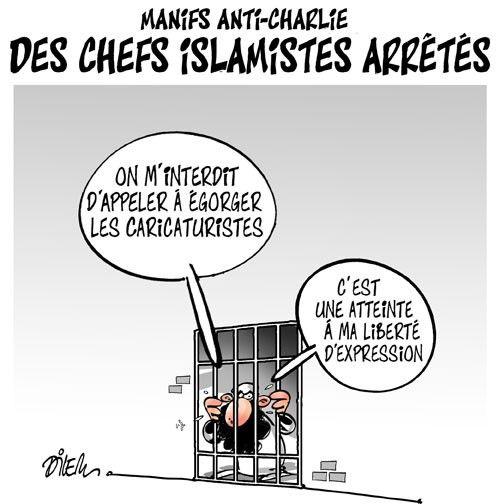 Caricature dilem du 19 janvier 2015 : Toute l'actualité sur liberte-algerie.com