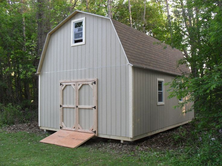 77 best images about storage shed on pinterest for Gambrel barns for sale