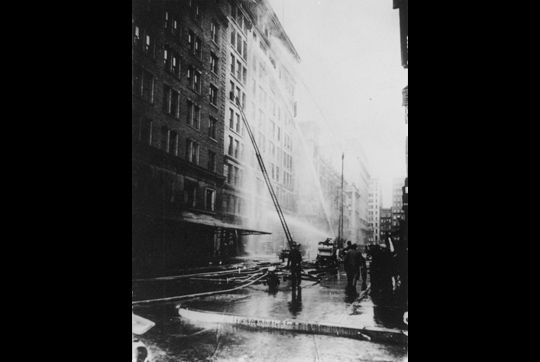 triangle shirtwaist factory fire and garment The 1911 triangle shirtwaist factory fire in new york city unleashed public outrage, forcing government action within three years, more than 36 new state laws had been passed on quality of.