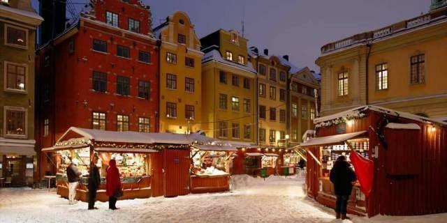 Julmarknader, fester och glöggmingel.