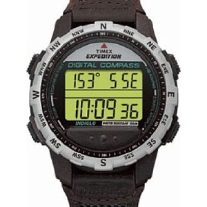 A tu taki old school. Timex Expedition Digital Compass Watch.