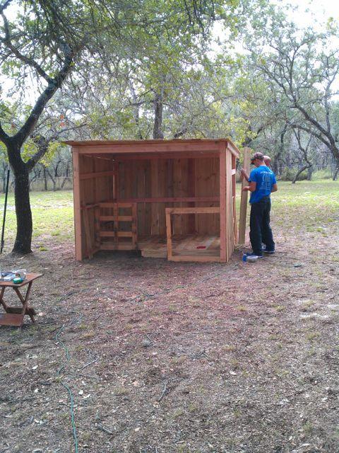 Goat shelter - photo#42