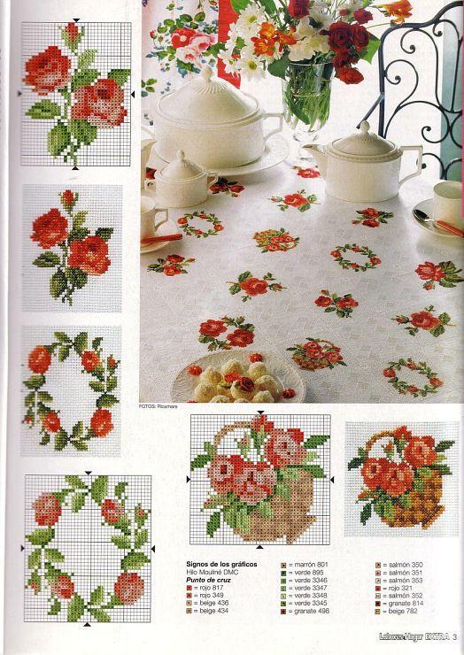 Gallery.ru / Фото #45 - разные цветочные схемы - irisha-ira: