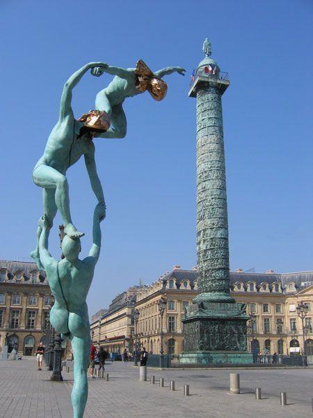 Place Vendôme, una de las plazas de #París más famosas. http://www.viajaraparis.com/lugares-para-visitar-en-paris/plaza-vendome-de-paris/ #viajar #Francia