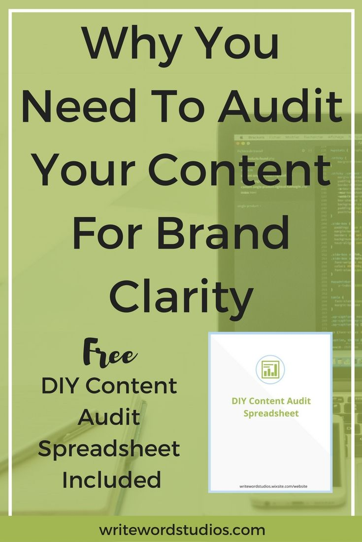 Why You Need To Audit Your Content For Brand Clarity