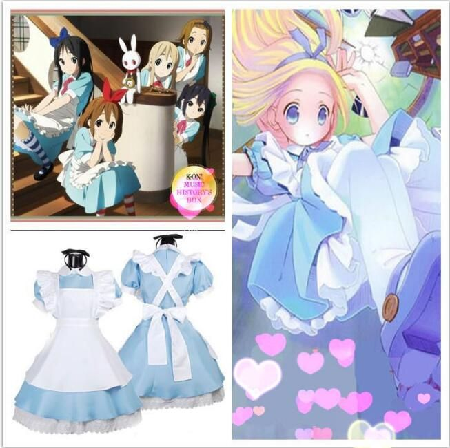 New Alice In Wonderland Party Cosplay Costume Anime Sissy Maid Uniform Sweet Lolita Dress Adult Halloween Costumes For Women #Sissy maids http://www.ku-ki-shop.com/shop/sissy-maids/new-alice-in-wonderland-party-cosplay-costume-anime-sissy-maid-uniform-sweet-lolita-dress-adult-halloween-costumes-for-women/