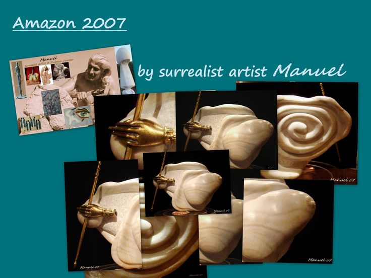 Amazon 2007 sculpture   http://www.manuelmykonos.com