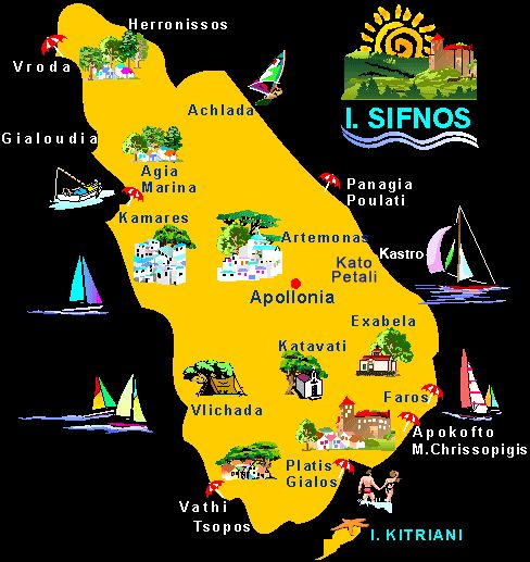 Sifnos- One of Top Nine Islands according to National Geographic, and me :0)