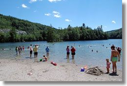 Emerald Lake State Park - Swimming, Fishing, Non-motorized Boat Rentals, Hiking, Camping, Picnic Areas and 100 person Pavilion Rental - East Dorset
