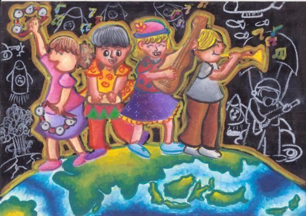 Artist:Alia S.  Location:Pontianak, Indonesia  Age:13