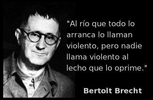"""Caminos del viento: """"Loa de la dialéctica"""". Bertolt Brecht."""
