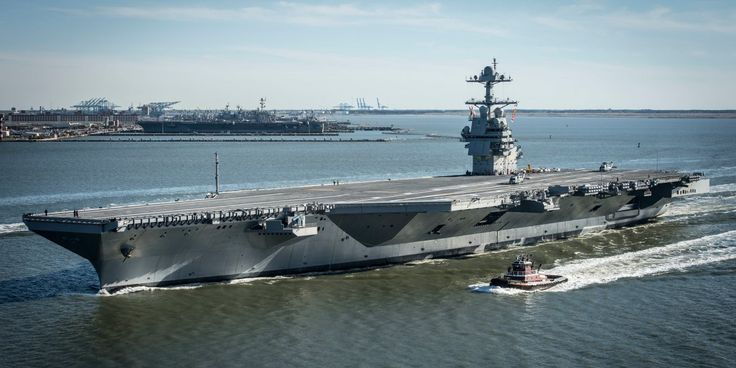 The US Navy's new USS Gerald R. Ford aircraft carrier boasts a slew of improved features that separate it from the previous Nimitz class carriers.