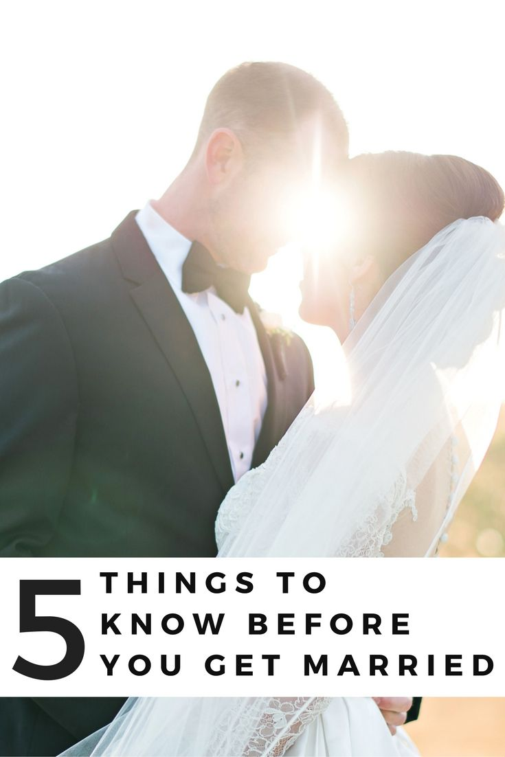 *DONT SAY I DO BEFORE READING THIS* 5 Things To Know Before You Get Married. Read this before you start planning a wedding! Click through to get this advice from someone who just got married!